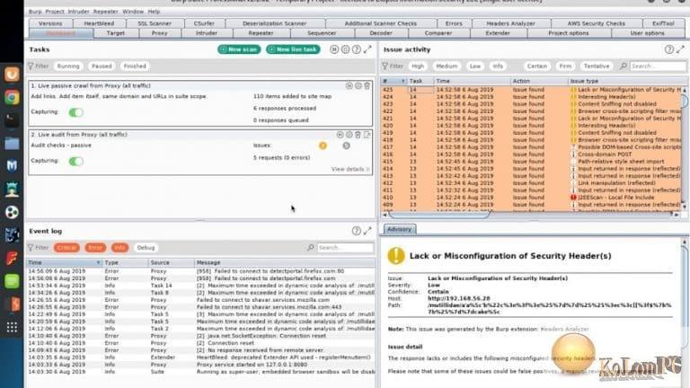Burp Suite Professional 2021.8.4 Build 9894 Crack Free 2021