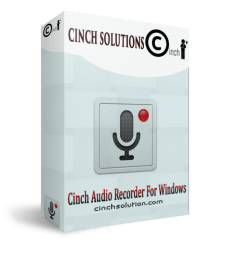 Cinch Audio Recorder 4.0.2 Crack + KeyCode full Version [2021]